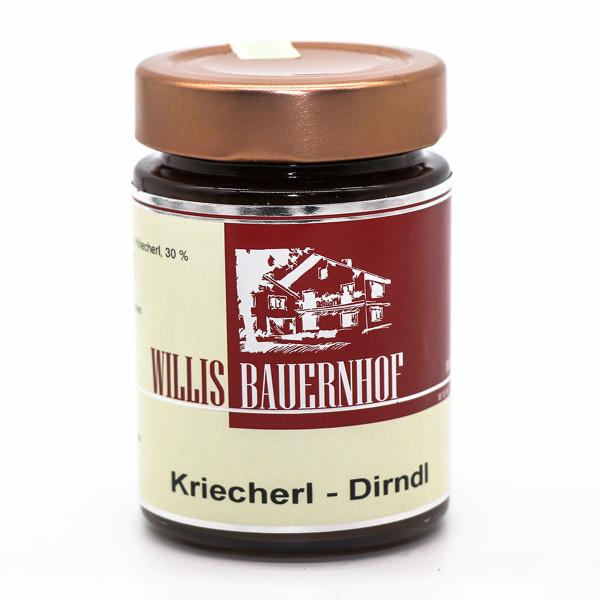 Kriecherl-Dirndl Marmelade 220g